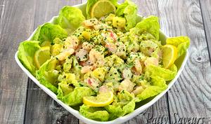 Salade Crevettes et Pommes de Terre