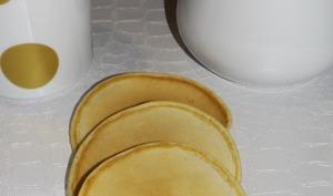 Pancakes allégés sans beurre