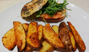 Country potatoes au four