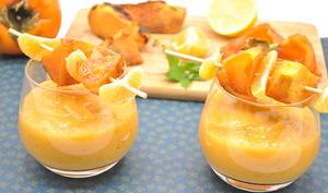Smoothie kaki et pommes