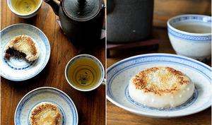 Gâteau de riz gluant à la pâte de haricots rouges