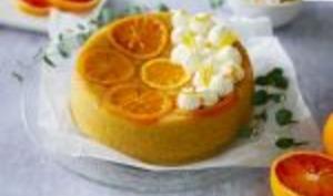Cake vapeur ultra moelleux à l'orange sanguine