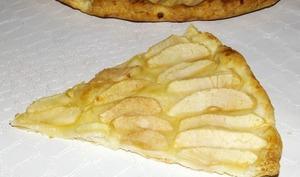 Tarte aux pommes à la cannelle