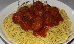 Boulettes de viande italiennes