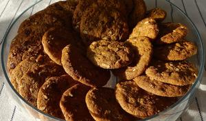 Cookies aux noix de pécan et perles de chocolat