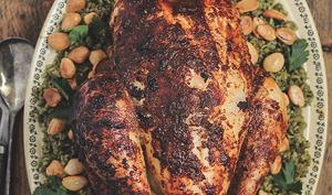 Freekeh aux poulet rôti