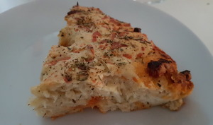 Fougasse fromage chorizo