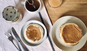 Pancakes ultra-moelleux au lait fermenté