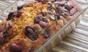 Carrot cake aux graines