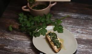 Filet de saumon chimichuri