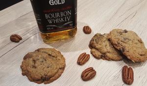Cookies au whisky et aux noix de pécan