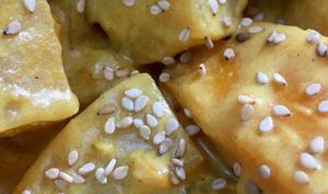 Curry de potiron et navets boule d'or