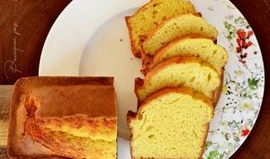 Cake à la marmelade de cédrat, limoncello