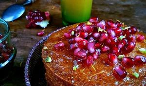 Gâteau de polenta à l'orange