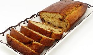 Gâteau au yaourt à l'okara et aux pépites de chocolat