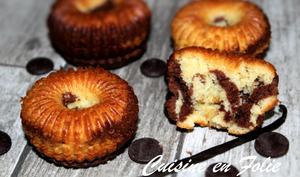 Marbrés chocolat-vanille