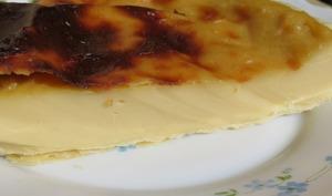 Flan pâtissier au lait de soja
