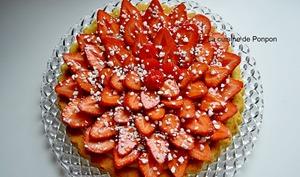 Tarte aux fraises très facile