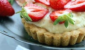 Tartelettes aux fraises Clery