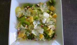 Salade d'endives aux kiwis