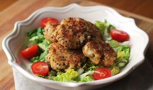 Croquettes de quinoa à la saucisse