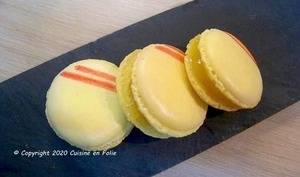 Macarons au Lemon curd maison