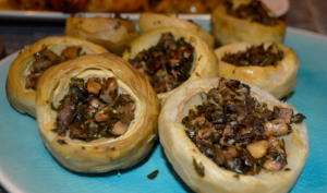 Artichauts farcis aux champignons