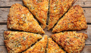 Scones courgette et fromage