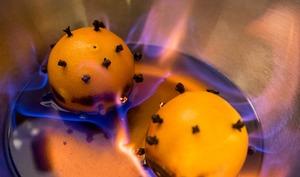 Punch flambé d'hiver Colada