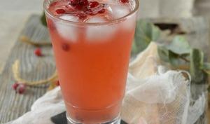 Cocktail aux cranberries et citron vert