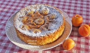 Flan aux abricots