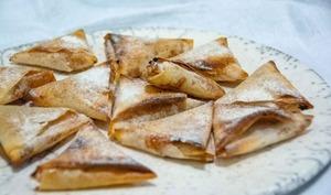 Petits triangles aux abricots
