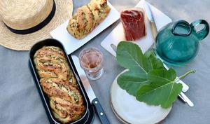 Babka au fromage frais et herbes fines