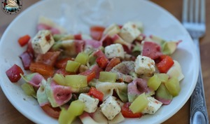 Salade de pâtes au nopal