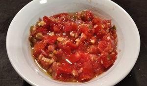 Rougail tomates au combava