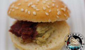 Mini burger bresaola légumes grillés