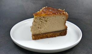 Cheesecake au praliné et aux spéculoos