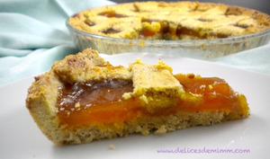 Linzer torte à l'abricot