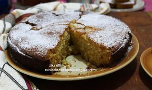 Gâteau aux noix et à la chicorée