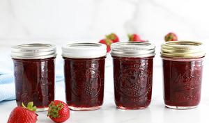 Confiture de fraises classique