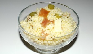 Salade de perles façon savoyarde
