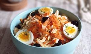 Salade de Carotte et Chou façon Coleslaw
