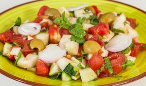 Salade de crudités tunisienne