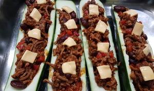 Burritos de courgettes