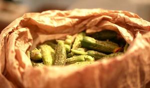 Pickles de cornichons