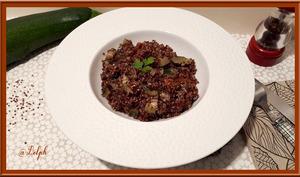Quinoa aux courgettes