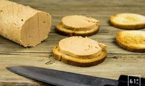 Parfait de foie gras au torchon
