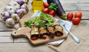 Cannelloni d'aubergines