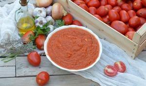 Sauce tomates maison