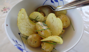 Salade de pommes de terre nouvelles